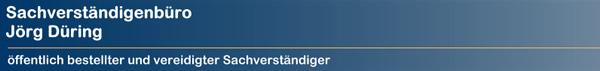 Immobilienbewertung - Sachverständigenbüro Jörg Düring