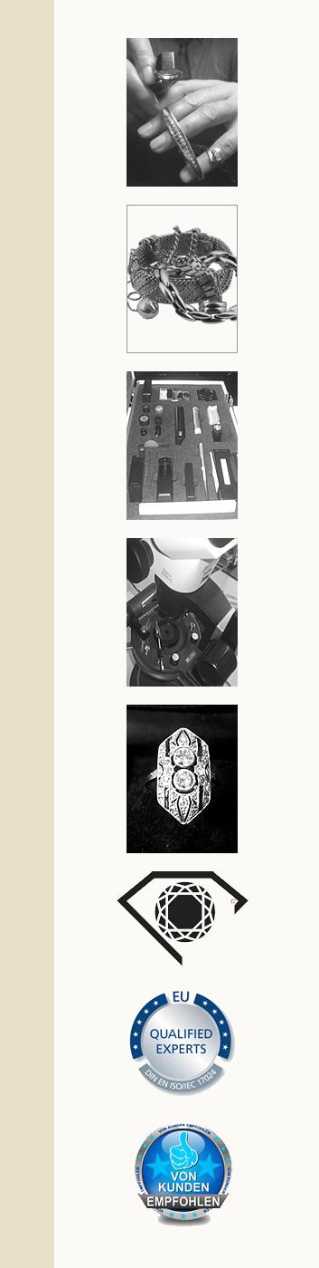 Ankauf- und Verkaufsberatung durch Schmuckgutachter für Remscheid